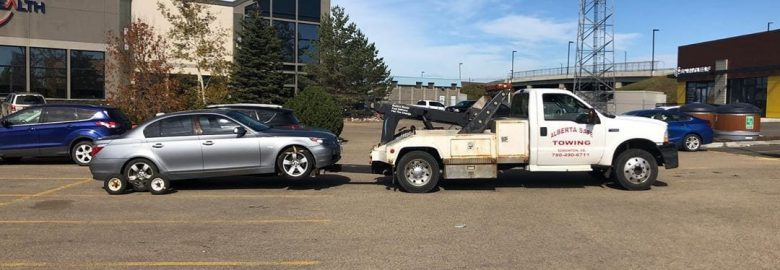 Alberta Safe Towing Ltd | Tow Truck | Cheap Low Cost Edmonton Flatbed Towing Service