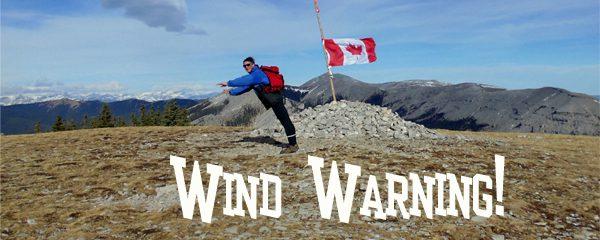 Weather - Wind Warning