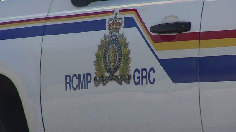 RCMP Crest On Vehicle