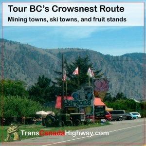 BC Crowsnest Route