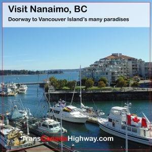 Nanaimo BC- gateway to Vancouver Island