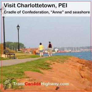 Charlottetown, PEI-Cradle of confederation, Anne, and seashore