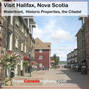 Halifax Nova Scotia- waterfront, Historic Properties and Citadel