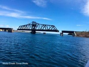 Little Current, Manitoulin Island Swing Bridge