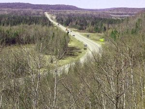 Michipicoten- view of the Trans-Canada Highway