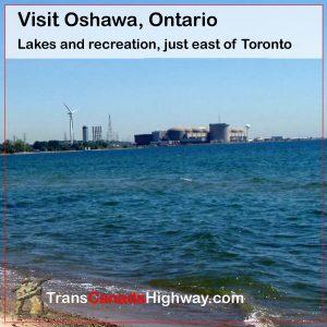Oshawa Ontario - lakes and recreation east of Toronto