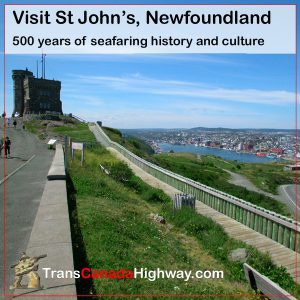St John's Newfoundland- view from Signal Hill