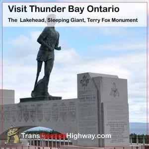 Thunder Bay, Ontario- Terry Fox Monument