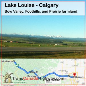 Alberta Itinerary - Lake Louise to Calgary (Foothills and Farm)