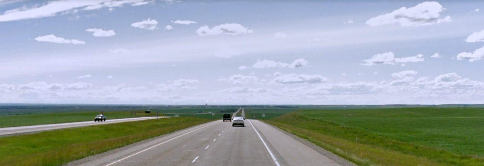 Alberta Prairie on TCH #1 east of Cluny-sliver