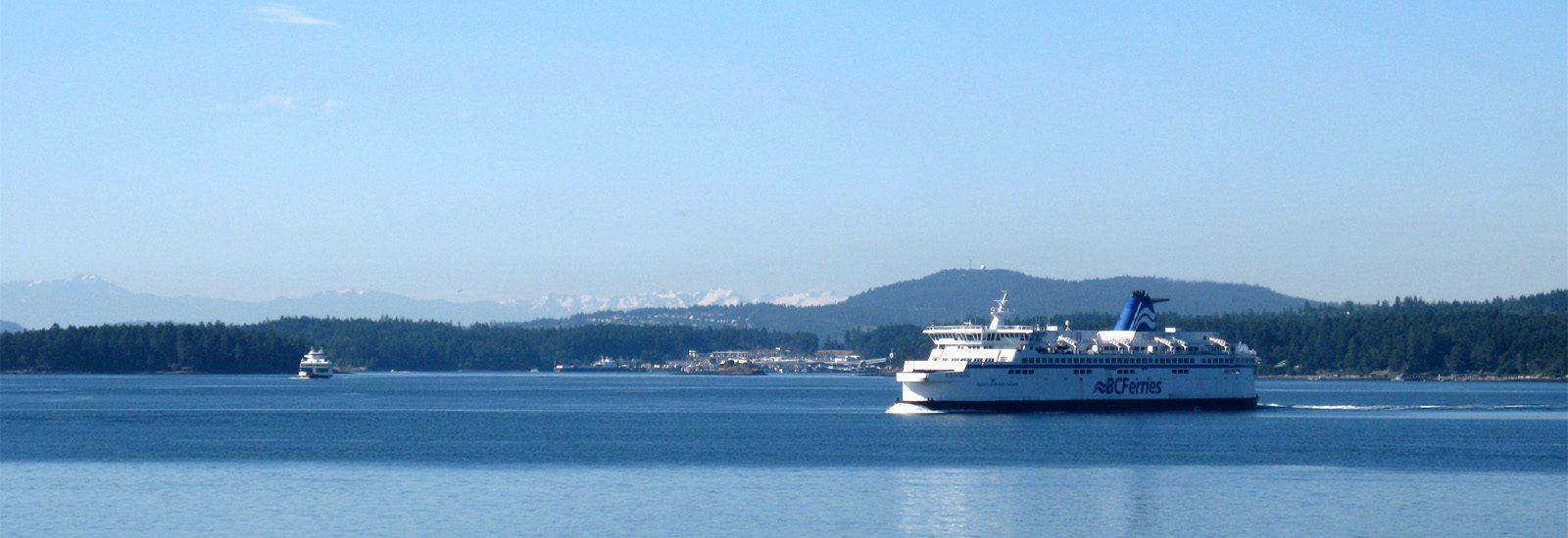 BC Ferries Between Tsawwassen and Swartz Bay-sliver
