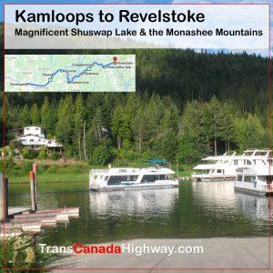 BC-Itinerary - Kamloops to RevelstokeBC-Itinerary - Kamloops to Revelstoke