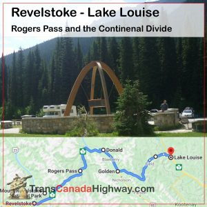 BC Itinerary - Revelstoke to Golden to Lake Louise