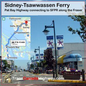 BC-Itinerary - Sidney Tsawwassen Ferry
