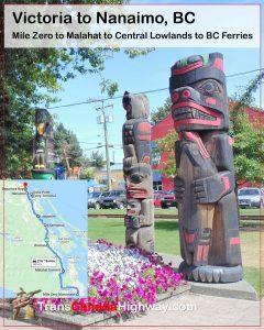 BC-Itinerary - Victoria to Nanaimo