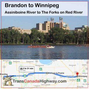 MB-Itinerary - Brandon - Winnipeg