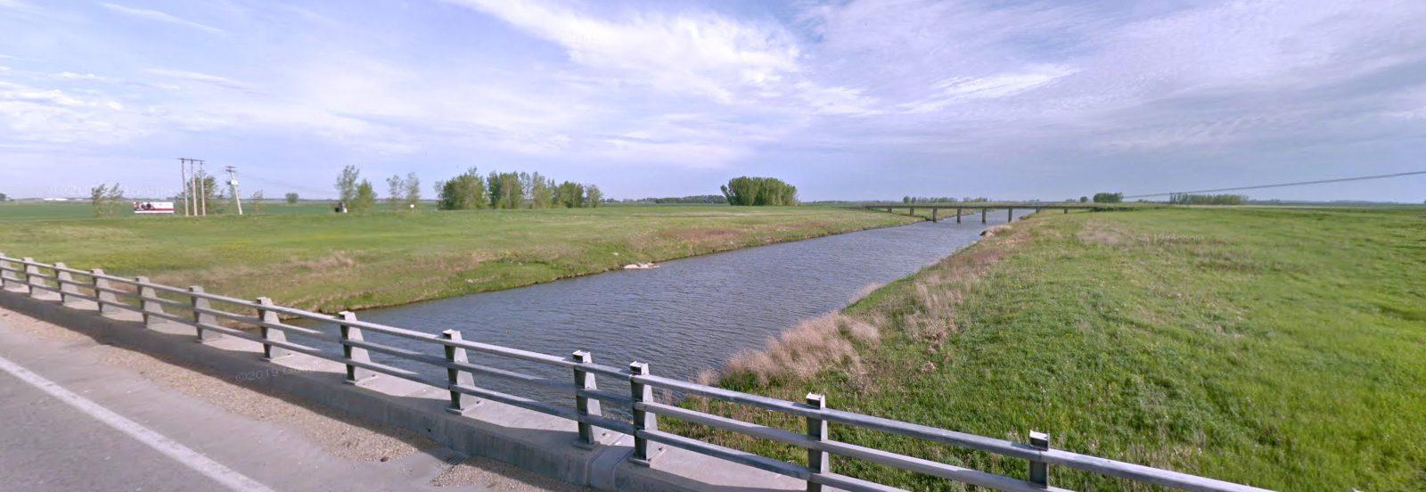 MB - Portage la Prairie - Assiniboine River Diversion Canal