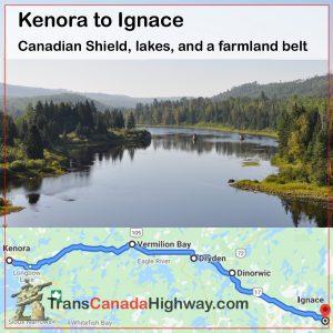 Ontario Itinerary - Kenora to Ignace