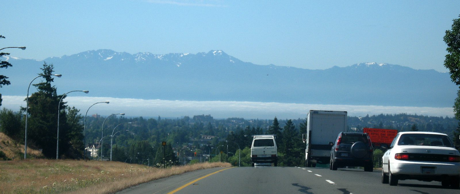 Pat Bay Highway-HillsideView SouthTo Cascade Mountains -sliver