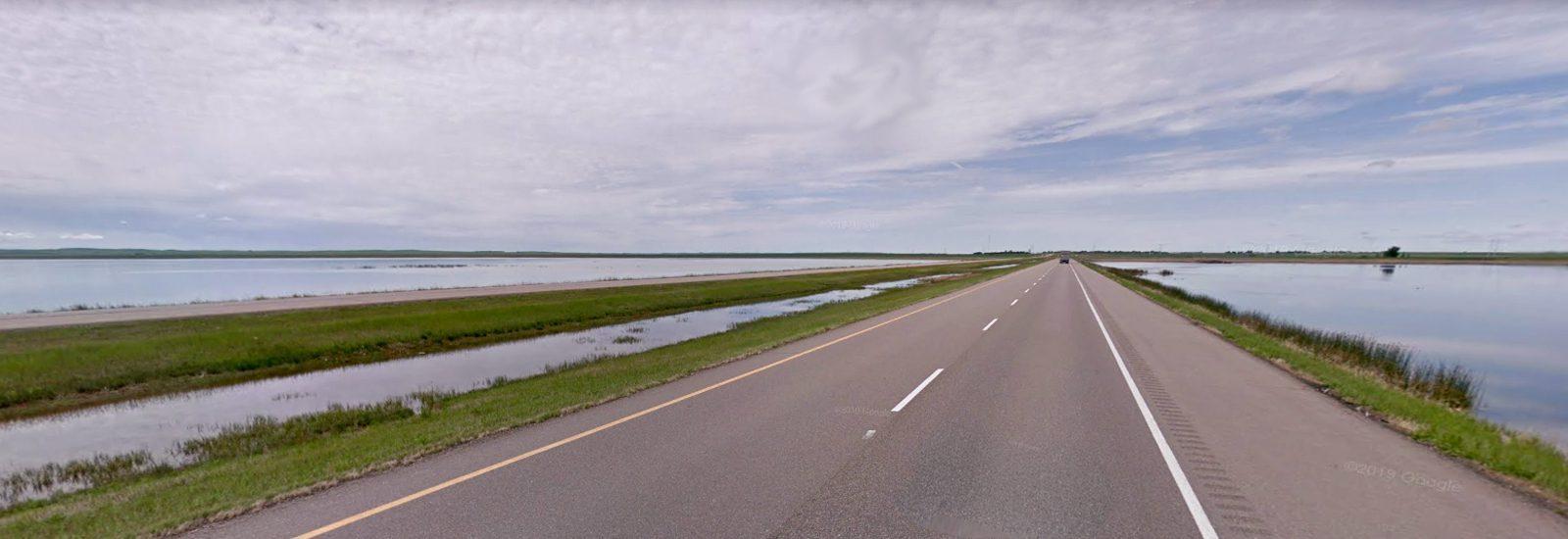 Reed Lake near Morse Saskatchewan