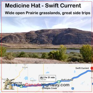 SK-Itinerary - Medicine Hat-Swift Current