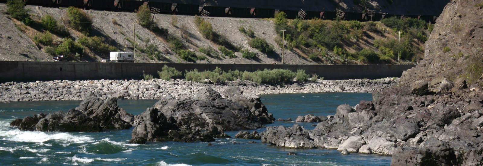 Thompson River near Spences Bridge -sliver