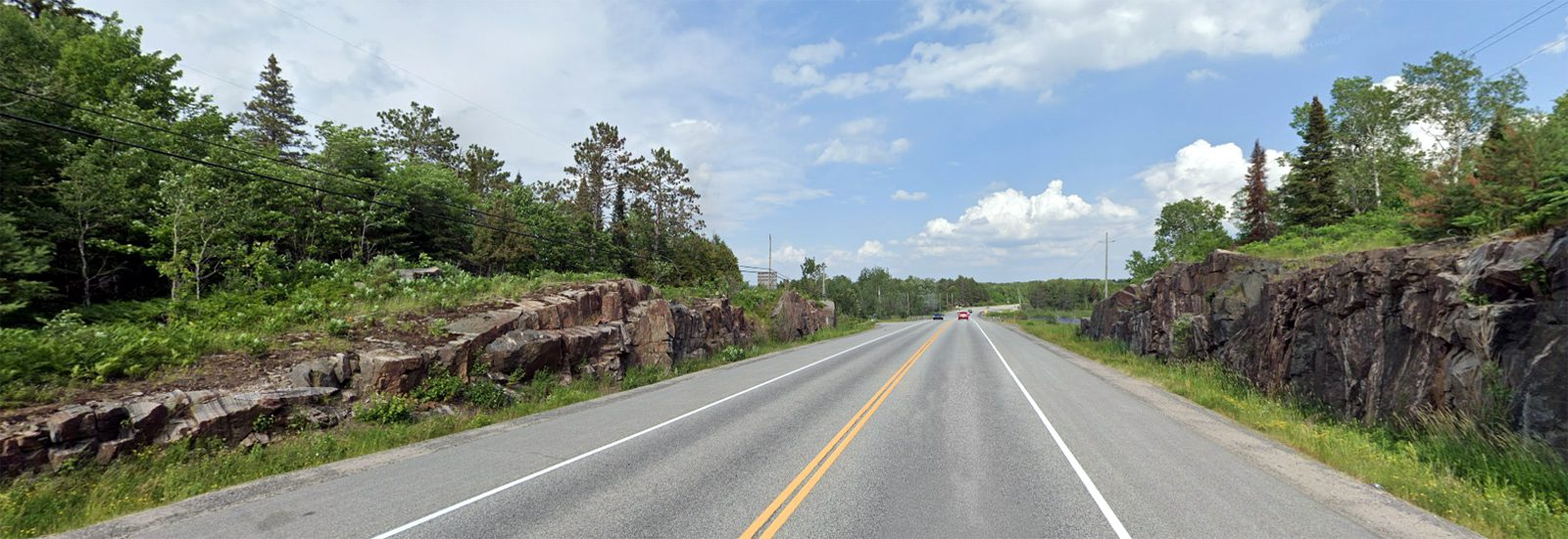 Highway 17 Rock Cuts east of North Bay, ON