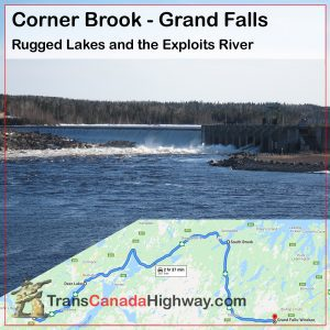 Newfoundland Itinerary - Corner Brook - Grand Falls-Windsor