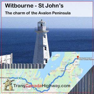 Newfoundland Itinerary - Witbourne - St John's