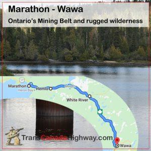 Ontario Itinerary - Marathon - Wawa