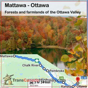 Ontario Itinerary - Mattawa - Ottawa
