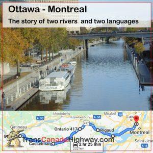 Ontario Itinerary - Ottawa - Montreal