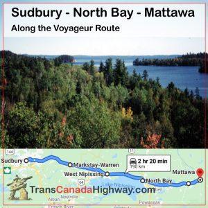 ONTARIO Itinerary - Sudbury - Mattawa