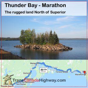 Ontario Itinerary - Thunder Bay to Marathon