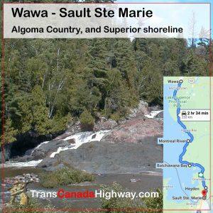 Ontario Itinerary - Wawa - Sault Ste Marie