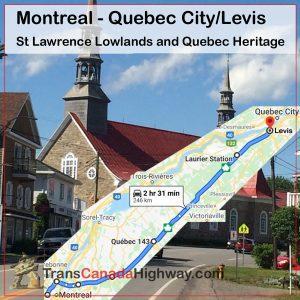 Quebec Itinerary - Montreal - Quebec City