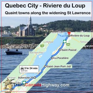 Quebec Itinerary - Quebec City - Riviere du Loup