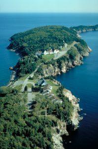 Keltic Lodge on Penninsula on the Cabot Trail on Cape Breton NS (Corel Photo CD)