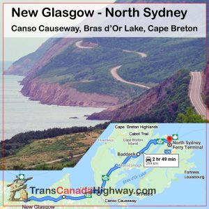 Nova Scotia Itinerary - New Glasgow - North Sydney